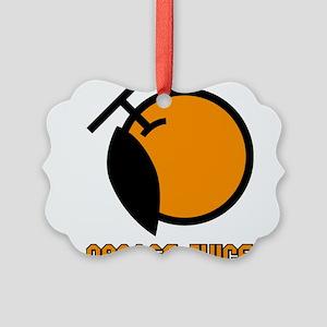 Orange Juice Picture Ornament