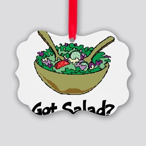 Got Salad Picture Ornament