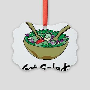 Got Salad Picture Ornament