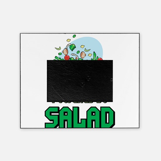 Powered By Salad Picture Frame