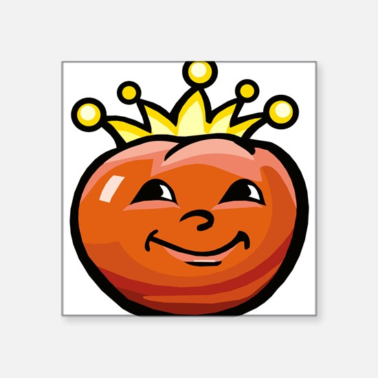"Tomato King Square Sticker 3"" x 3"""