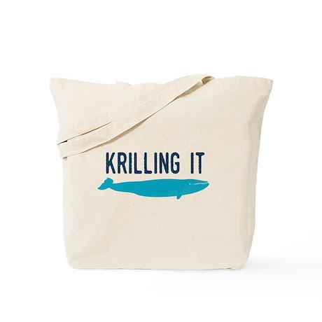 Krilling It Tote Bag