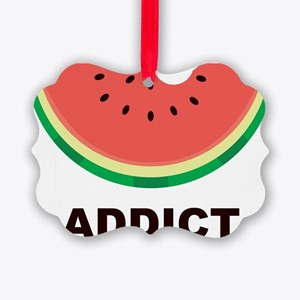 Watermelon Addict Picture Ornament