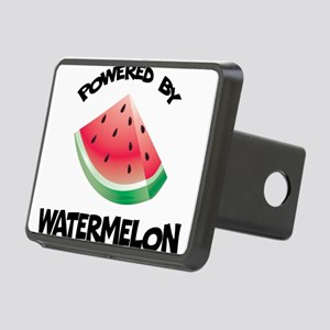 Powered By Watermelon Rectangular Hitch Cover