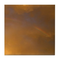 Sunset Rainbow Right Tile Coaster