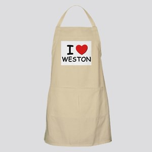 I love Weston BBQ Apron