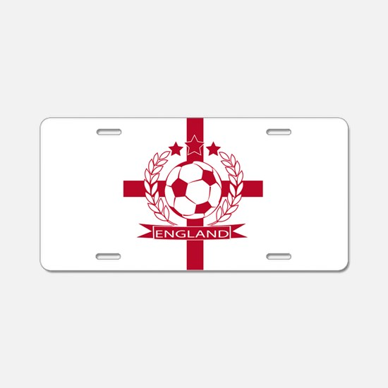 England football soccer Aluminum License Plate