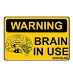 Brain in Use Postcards (Package of 8)