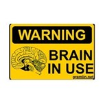 Brain in Use Mini Poster Print