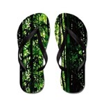 Bamboo Forest Look Flip Flops