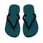 Rough Green Look Flip Flops