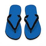 Textured Light Blue Look Flip Flops