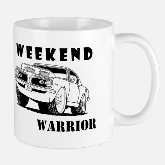 Weekend Warrior at the Drags Mug
