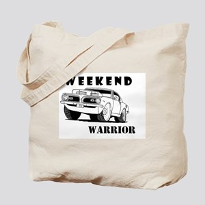 Weekend Warrior at the Drags Tote Bag