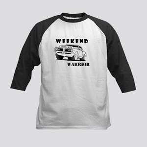 Weekend Warrior at the Drags Baseball Jersey