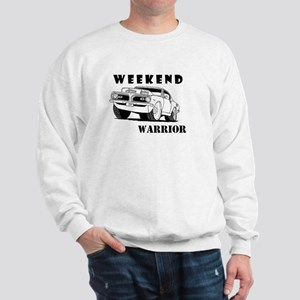 Weekend Warrior at the Drags Sweatshirt