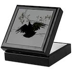 Black Vulture Flying Keepsake Box