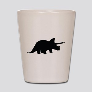 Triceratops Shot Glass