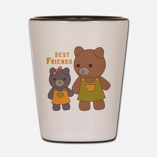 Best Friends Shot Glass