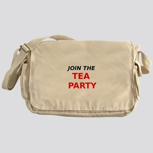 Join the Tea Party Messenger Bag