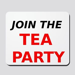 Join the Tea Party Mousepad