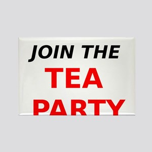 Join the Tea Party Rectangle Magnet