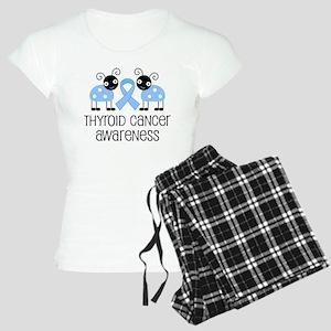 Thyroid Cancer Awareness Women's Light Pajamas
