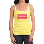 Tough Cookie Breast Cancer Pink Designer Tank Top