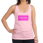 Tough Cookie Breast Cancer Pink Designer Racerback