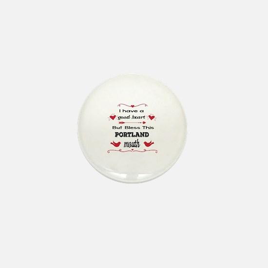 Unique Oregon town Mini Button