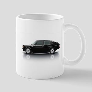 Black Saab 900 Mug