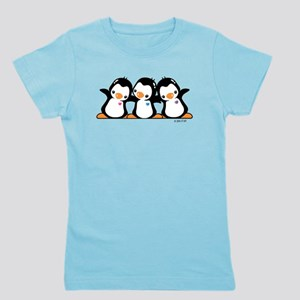 Penguins Girl's Tee