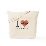 I Love The Arctic - Tote Bag