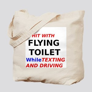 Hit with Flying Toilet while Texting and Driving T