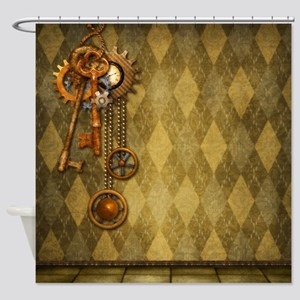 Steam Dreams: Keys Shower Curtain