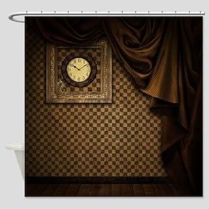 Steam Dreams: Curtains Clock and Wall Shower Curta