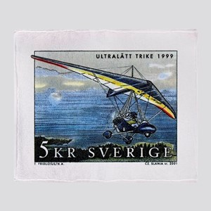 2001 Sweden Ultralight Aircraft Postage Stamp Thro