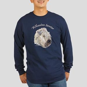 Soft Coated Wheaten terrier Long Sleeve Dark T-Shi