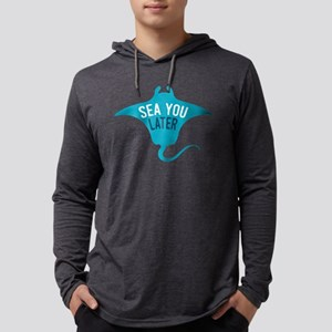 Sea You Later Mens Hooded Shirt