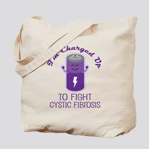 Fight Cystic Fibrosis Tote Bag
