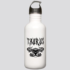Taurus black letters Stainless Water Bottle 1.0L