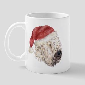 Christmas Soft Coated Wheaten Mug