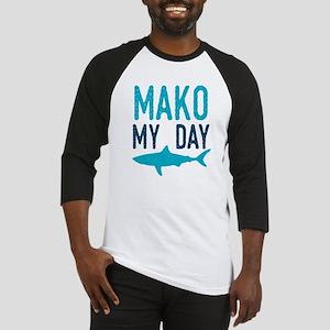 Mako My Day Baseball Jersey