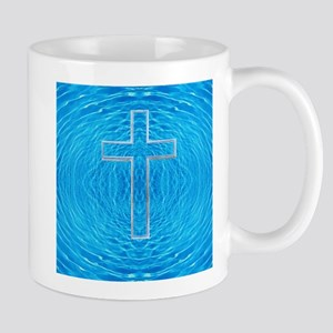 Cool Pool Cross-Transparent before God Mug