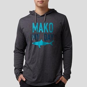 Mako My Day Mens Hooded Shirt