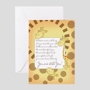 Cancer patients greeting cards cafepress cancer patient encouragement card m4hsunfo