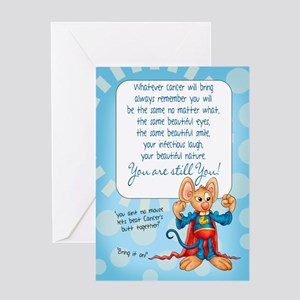 Cancer patient encouragement greeting cards cafepress cancer patient encouragement card m4hsunfo