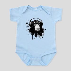 Headphone Monkey Body Suit