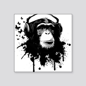 Headphone Monkey Sticker