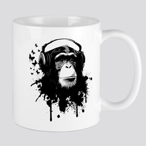 Headphone Monkey Mug